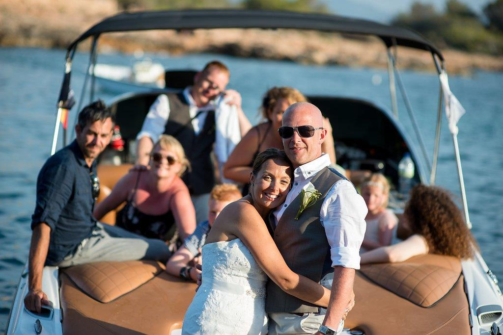 Sunset Boats - Weddings